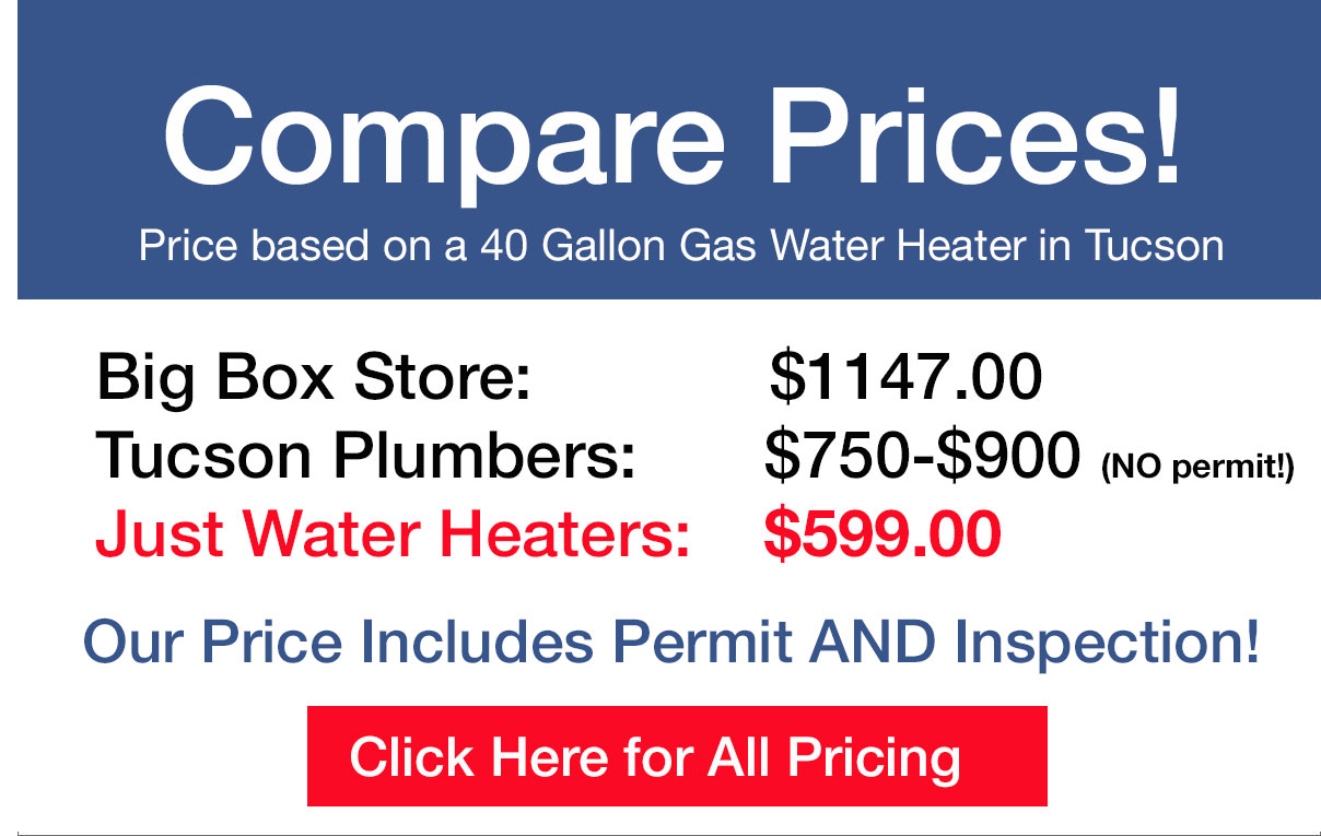 Cost to install water heater - Fast Affordable Tucson Water Heater Installation